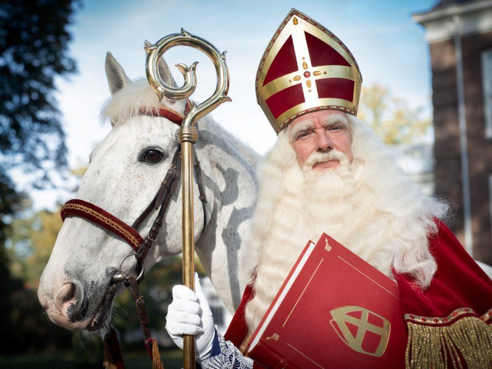 Sinterklaas op het Wagnerplein in Tilburg