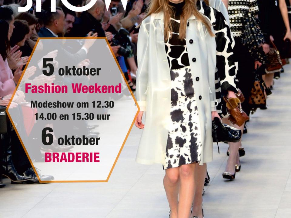 Modeshow Winkelcentrum Wagnerplein - 5 & 6 oktober 2019